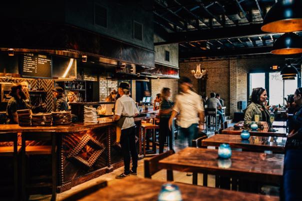 Kitchen & Bar, Native Hostel & Bar. Credit Charles Reagan Hackleman.