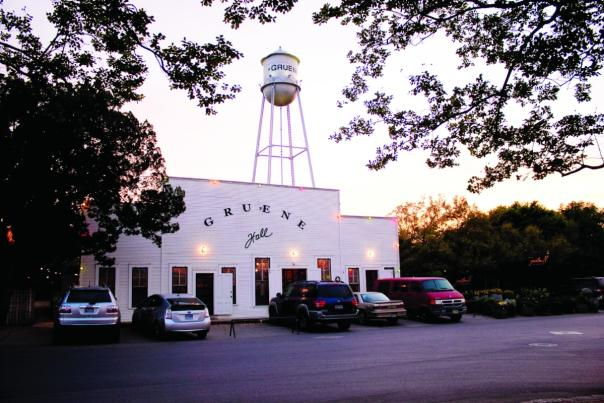 Gruene Hall. Courtesy Gruene Historic District.