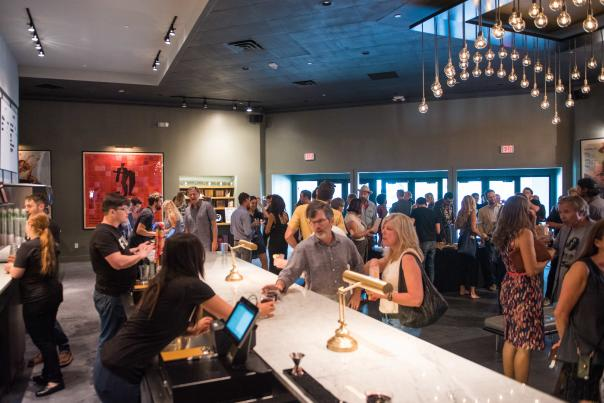 AFS Cinema, 2017. Photo by David Brendan Hall for Austin Film Society.