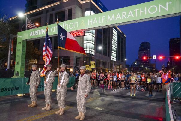 Austin Marathon & Half Marathon Courtesy of Stacey Conley
