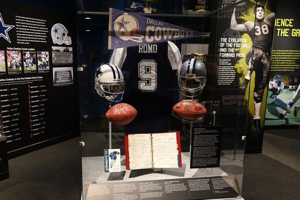 Gridiron Glory Exhibit 2015. Courtesy of the Bullock Texas State History Museum.