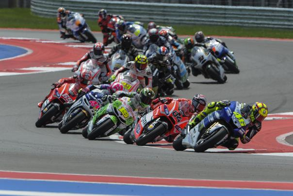 MotoGP at COTA. Credit JP Rice.