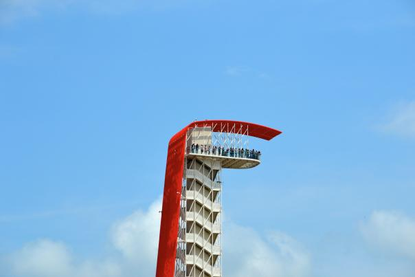 COTA Tower Tour. Credit Circuit of The Americas.