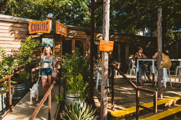 Cosmic Coffee & Beer Garden. Courtesy of Visit Austin_Owned in Perpetuity.