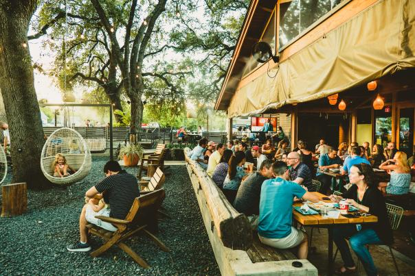 Loro Patio. Courtesy of Visit Austin - owned