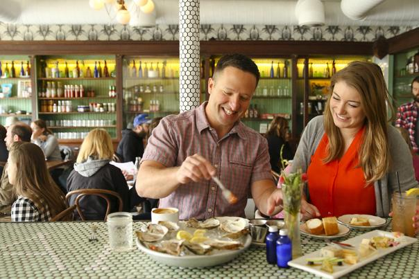Couple Dining Photo Credit Austin Convention & Visitors Bureau_72dpi