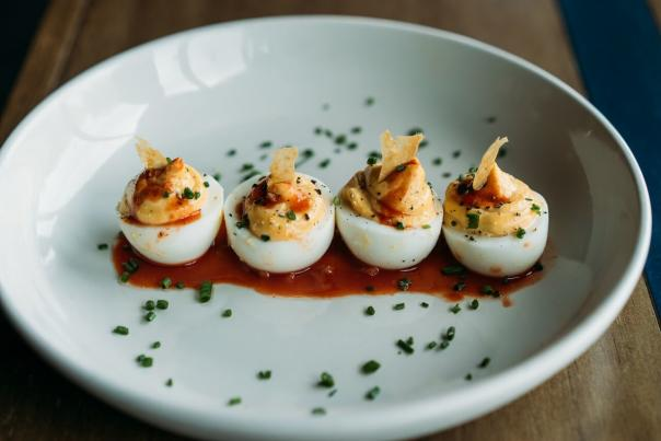 Deviled Eggs, The Cavalier. Credit Alison Narro.