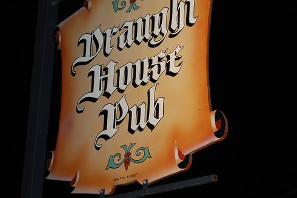 The Draught House Pub & Brewery. Photo courtesy of Kristy Owen.