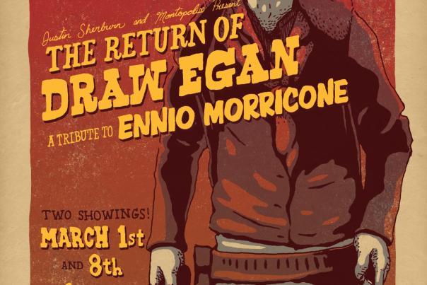 Ennio Morricone Tribute Poster, 2015