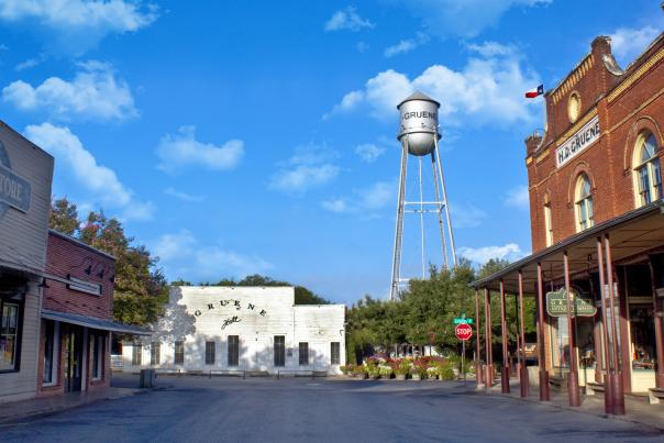 Gruene. Courtesy of The Gruene Historic District.
