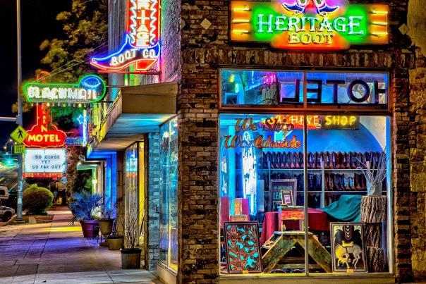 Heritage Boot Exterior. Credit Sam Seizert.