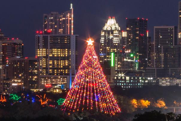 Trail of Lights & Zilker Tree. Credit Joseph Haubert, expires 10-1-18.