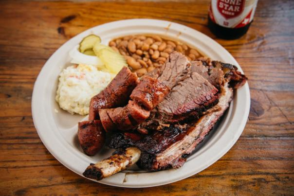 Iron Works Barbecue. Credit Lisa Hause.