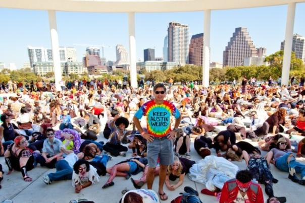 Keep Austin Weird Fest and 5K 2015. Courtesy of Do512.