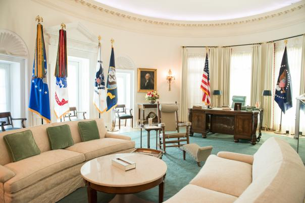 LBJ Library Oval Office. Credit Lauren Gerson_Full Usage Permissions.