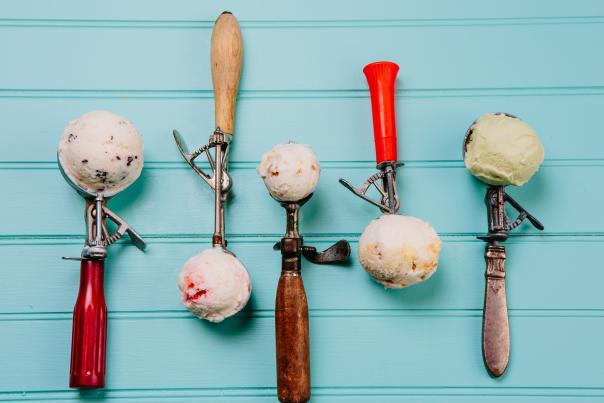 Spring Scoops, Courtesy of Lick Honest Ice Creams. Credit Annie Ray.
