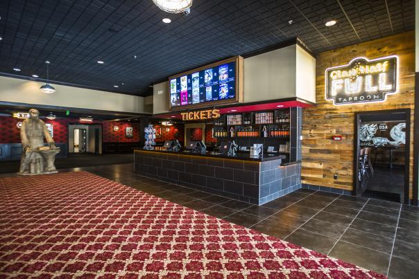 Alamo Drafthouse Lakeline Interior. Courtesy of Alamo Drafthouse Cinemas.