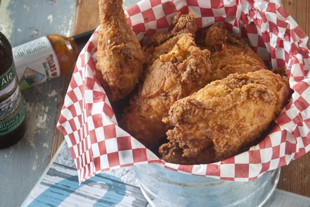 Lucy's Fried Chicken. Courtesy of Bread & Butter PR. Prior Approval Required.