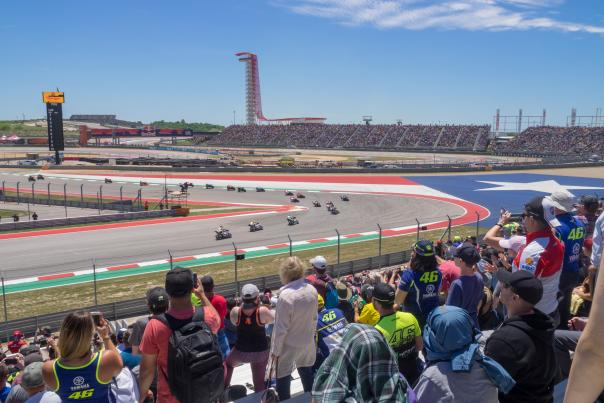 MotoGP. Courtesy of COTA_Limited Usage, Miles/Advertising Purposes.