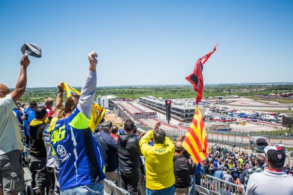 MotoGP 2017 at COTA. Courtesy of Circuit of The Americas.