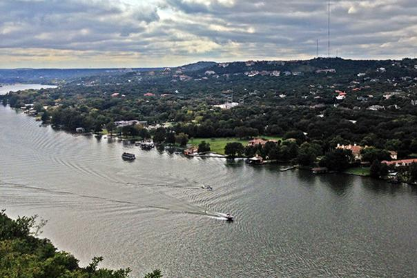 Mount Bonnell. Courtesy of Rebekah Grmela.