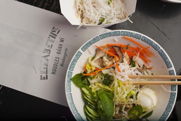 Noodles at Elizabeth Street Cafe. Credit Casey Dunn, Courtesy MMG.