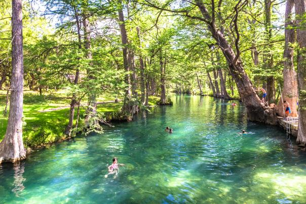 Wimberley Blue Hole. Credit Pierce Ingram_LIMITED USAGE, BLOG ONLY.