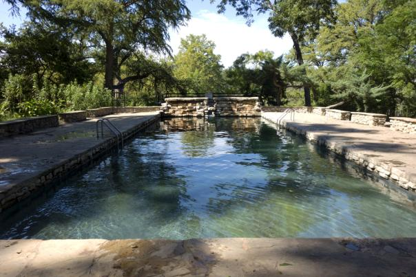 Krause Springs. Photo 6. Courtesy of Expedia Viewfinder.