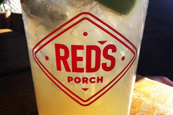 Red's Porch margarita, crop. Credit Susan Richardson.