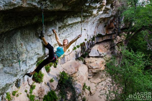 Climbing at Reimers Ranch. Credit Jacob Bodkin.