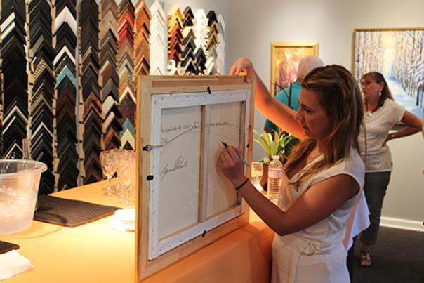Lyora Pissarro, OpeningWEB. The Russell Collection Pissarro Exhibition, 2014.