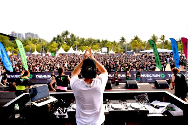 The Music Run™. Photo Courtesy of The Music Run™.