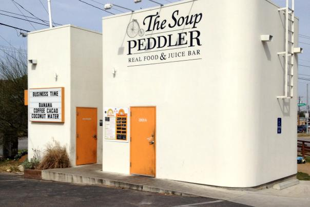 The Soup Peddler Exterior. Courtesy The Soup Peddler.