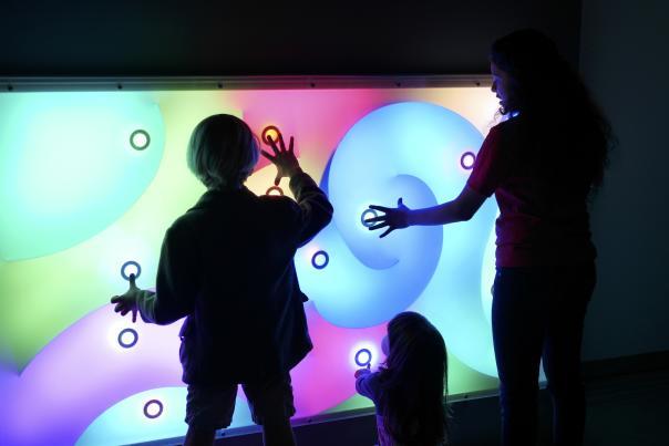 Thinkery Light Lab. Credit Kirk Tuck.