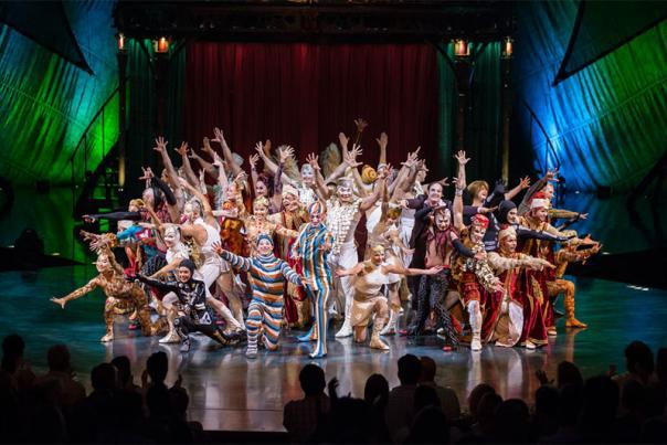 KOOZA by Cirque du Soleil. Courtesy of Cirque du Soleil.