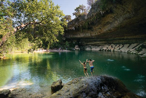 Hamilton Pool, Convention Services Image Gallery Image Box Widget.