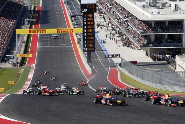 F1 at COTA. Things To Do, Motorsports Image Box Widget. Courtesy of Circuit of The Americas.