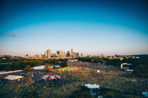 Austin City Limits (ACL) Music Festival. Courtesy of C3 Presents.