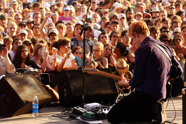 Spoon at ACL Festival