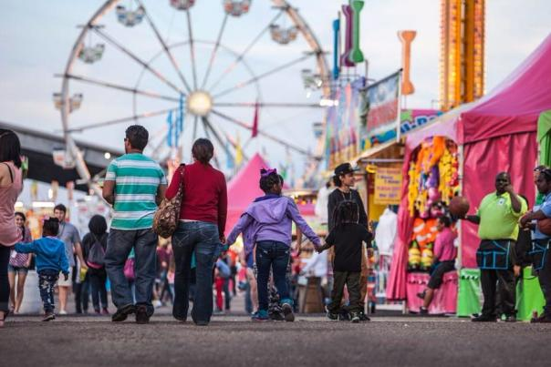 Families at the YMBL South Texas State Fair