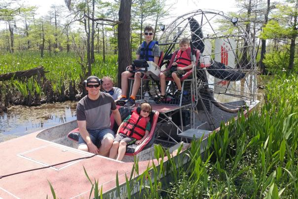 Airboat Rides in Southeast Texas
