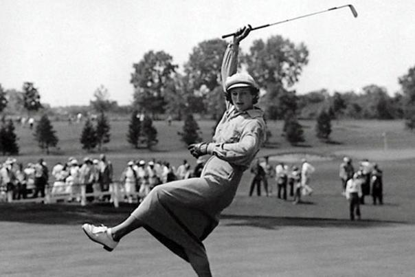 Babe Zaharias Golf Swing