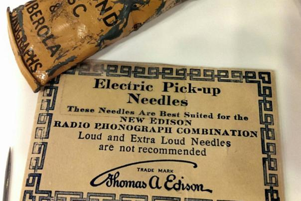 Edison Museum - Electric Pick-up Needles