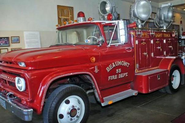 Light Truck at Fire Museum of Texas
