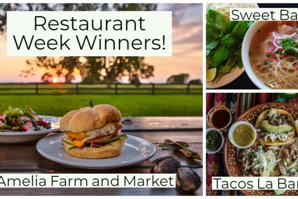 Restaurant Week Winners