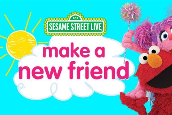Sesame Street Live Make a New Friend