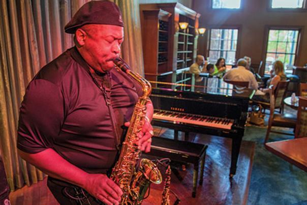 Suga's Deep South Cuisine & Jazz Bar.