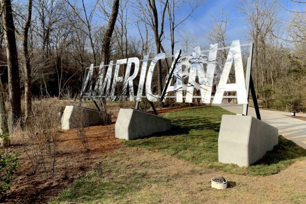 George Sanchez-Calderon's Americana at Crystal Bridges Museum of Art. Image: Ben Davis.