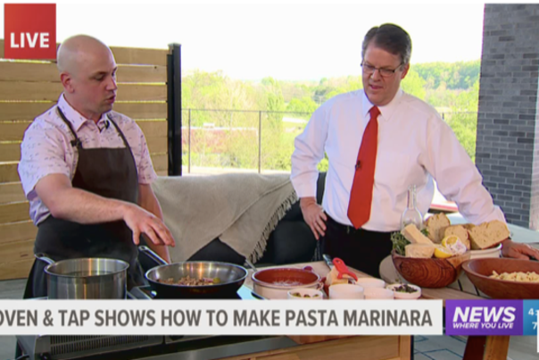 Oven & Tap: Ways to serve pasta while social distancing from home