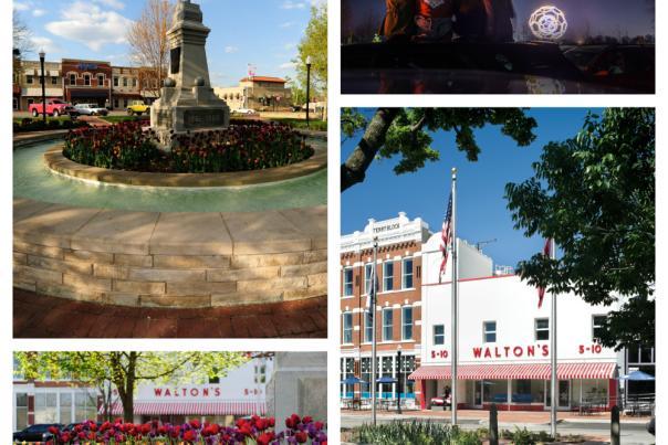 Bentonville Collage